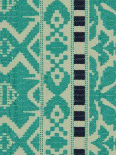 Aztec City Turquoise by Robert Allen