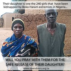 Pray for the parents of the missing Chibok girls! Boko Haram, Pray, Parents, Girls, Movie Posters, Dads, Toddler Girls, Daughters, Maids