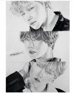 Bts Drawings, Pencil Drawings, Chinese Drawings, Bts Fans, Kpop Fanart, Jikook, Bts Jungkook, Art Sketches, Fan Art