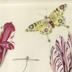Bloemen, vlinder en een vogel, Nicolaes de Bruyn, 1594 - Mijn Producten-Verzameld werk van Flow Studio - Alle Rijksstudio's - Rijksstudio - Rijksmuseum