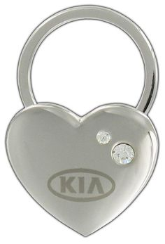 Genuine #KIA Heart #Keychain UM090-AY702 OEM BRAND NEW Soul Forte Optima - Kia (UM090-AY702)