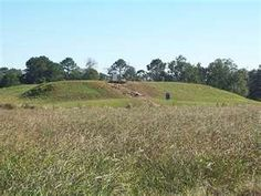 Caddo Indian Mounds, outside of Alto, Texas