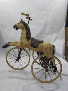 Victorian Children S Horse Carriage Bicycle Horse Buggy