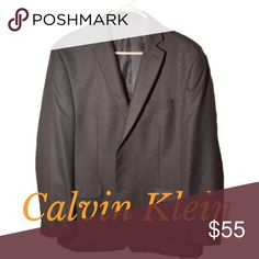 💖Calvin Klein Men's Blazer💖 💖 New Calvin Klein Blazer. Perfect Condition. From top of shoulder to wrist measures about 24 in. Size L. 2 inside pockets. 💖 Calvin Klein Suits & Blazers Sport Coats & Blazers