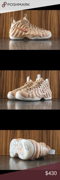 "Nike Air Foamposite Pro ""Vachetta Tan"" 100% Authentic  Ds/Brand New  Super Limited  Comes with Original everything Delivered and shipped out NOW! Nike Shoes Sneakers"
