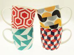 Your cuppa tea? Grafika Mugs.