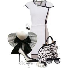 """Elegant Black & White"""