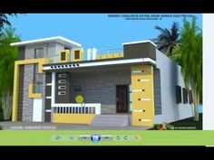 House Design Exterior Single Story ` House Design – – It's very easy to really … House Outer Design, Single Floor House Design, Modern Small House Design, Sims House Design, Village House Design, Duplex House Design, House Front Design, House Design Pictures, Design Living Room