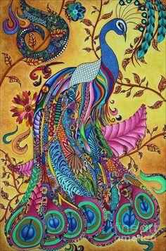 332d357191aaf3d35edea465af7475a4--peacock-art-antiquaires.jpg (594×900)