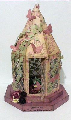 Lantern on plinths  Design No 2 stained glass ideal Christmas Weddings Keepsake etc