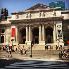 NY Public Library - The Book Nerd's Guide to New York City by Epic Reads