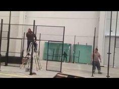 Urban Padel. Video Preparando las pistas de #Padel #UrbanPadel, @UrbanPadelM, #Indoor