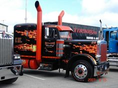 That's one HOT Peterbilt! #ReferATruck  'Get er Loaded' - LGMSports.com