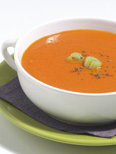 Sopa de tomate: 130 calorias