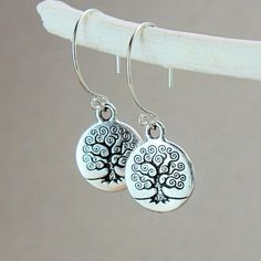 Tree Of  Life   Earrings        by Hildes