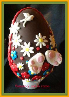 Sazono y me lo como: Huevos de chocolate-Pascua