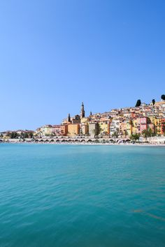 Places I'll Never Forget in Europe – Plage des Sablettes, Menton, France