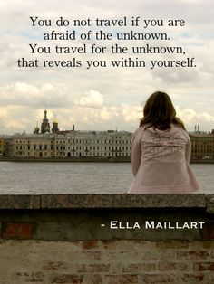 25 great travel quotes for inspiring global adventures #travelquotes