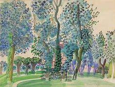 Raoul Dufy (1877-1953) Etude pour le pesage