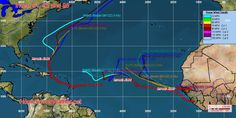 Now Tracking Invests 91, 92 and 98 In The Atlantic - Home Town Weather - Hurricane Central
