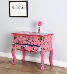 Console table with drowers
