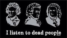 Musical tastes.