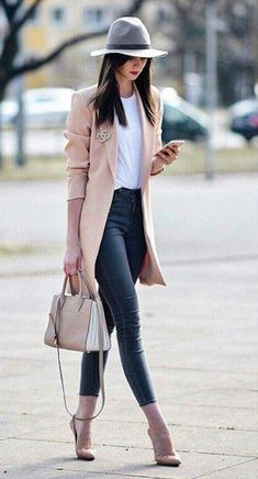 For-Women/ look fashion, chic womens fashion, business casual womens fashio Classy Outfits For Women, Fall Outfits For Work, Fall Fashion Outfits, Fall Fashion Trends, Mode Outfits, Stylish Outfits, Winter Fashion, Fashion Ideas, Fashion Spring