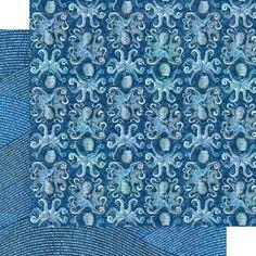 8 Sheets Graphic 45 Ocean Blue 12x12 Paper Collection 8 | Etsy Graphic 45, Papel Scrapbook, Scrapbook Layouts, Mixed Media Scrapbooking, Cozumel, Kauai, Paper Design, Pattern Paper, Mini Albums