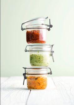 Serviervorschlag für Tomaten-Pesto