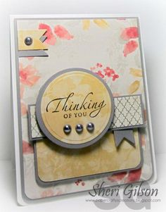 Thinking of You, DS138 by PaperCrafty - Cards and Paper Crafts at Splitcoaststampers