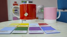A Palette for Your Palate: Expressions of Color & Taste with the Pantone Color Institute and Tealeaves Pantone 186, Pantone Color, Perfect Cup Of Tea, Tea Brands, Co Design, World Of Color, Color Trends, Tea Cups, Palette