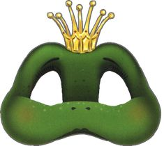 This season, we are performing The Frog Prince! Here is a perfect craft idea for the kids!