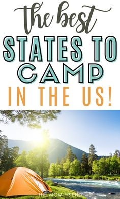 These are the top 5 family travel destinations for camping. You'll love these 5 best states to camp in with kids. Travel to these spots in the US for budget friendly camping that will top your bucket lists. If you're looking for fun and cheap camping destinations in the USA, these are your best bet! Beach Camping, Go Camping, Family Vacation Destinations, Travel Destinations, Rv Parks, State Parks, Travel With Kids, Family Travel, Yellowstone Hot Springs