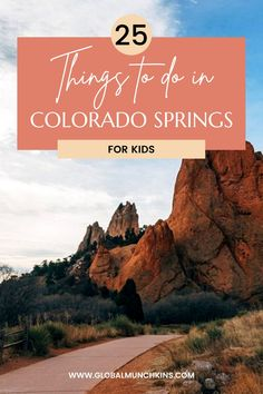 If you are looking for kid-friendly things to do in Colorado Springs you have come to the right place. Today in partnership with Visit Colorado Springs I am sharing 25 awesome things to do in Colorado Springs for kids. Do you want to know the best part? 12 of them are FREE things to do in Colorado Springs. Woo Hoo! Couples Vacation, Vacation Trips, Family Vacations, Travel With Kids, Family Travel, Travel Expert, Travel Guide, Road Trip Theme, Visit Colorado