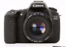 Canon EOS 60D 18.0MP Digital SLR Camera BUNDLE: INCLUDES 3 Amazing Lens!!!