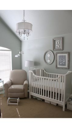 greys with mint accent