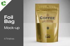 Foil Bag - Mock-Up by Colatudo Store on @creativemarket