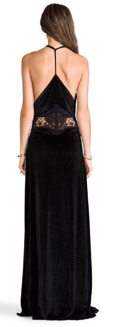 Shop for JARLO Siobahn Velvet Maxi Dress in Black at REVOLVE. Runway Fashion, Fashion Beauty, Fashion Outfits, Womens Fashion, Street Fashion, Pretty Black Dresses, Tango Dress, Future Fashion, Classy And Fabulous