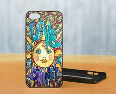 Love Shines Singleton Hippie Art, iPhone 5 Black Case Cover