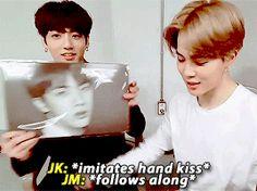 """jin hyung must be so proud """