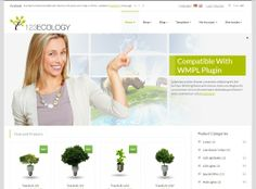 123Ecology - based on Bootstrap system and uses WooCommerce