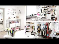 Closet/Office Tour ♥ - YouTube