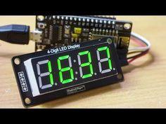 Часы на ESP8266 с синхронизацией через интернет / Arduino-проекты