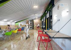 Interior Coworking on Behance