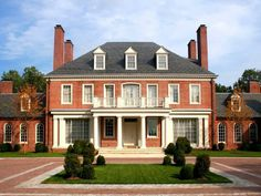 Before: Monastery. After: Luxury Mansion >> http://coolhouses.frontdoor.com/2013/03/13/renovated-monastery-in-maryland/?soc=pinterest#
