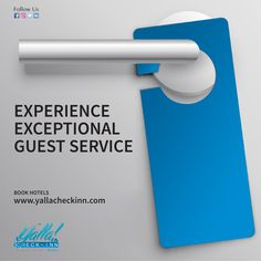 🛏️#Experience Exceptional #Guest #Service  #BOOK #HOTELS 🛎️ www.yallacheckinn.com