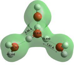 H3O+.3(H2O) hydtated oxonium ion