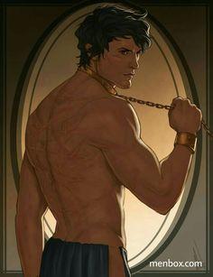 Ezra's scars