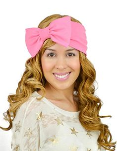 Sweet in the City Hot Pink Sparkles Turban Bow Stretch Slip on Style Headband Boho Bohemian Trendy Chic Style Sweet in the City http://www.amazon.com/dp/B00QNO3572/ref=cm_sw_r_pi_dp_Bezvvb1VG2ZJQ