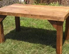 YOUR Custom Rustic Reclaimed Barn Wood Farmhouse Dining Table FREE SHIPPING